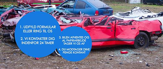 Billede Dan Auto ApS – tilbyder køb af skrotbiler til en høj skrotpræmie